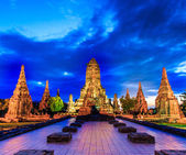 Temple wat Chaiwatthanaram — Stock Photo