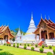 Wat Phra Sing temple — Stock Photo
