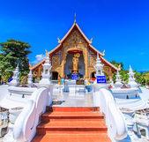 Tempio di wat phra sing — Foto Stock