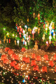 Loy Krathong festival in Chian — Stock Photo