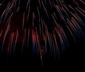 Coloratissime fuochi d'artificio — Foto Stock