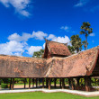 Wooden church of Wat Lok Molee Chiangmai — Stock Photo
