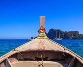 Deniz tekne kuyruk — Stok fotoğraf