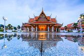 Monarchs chancel temple — Stock Photo