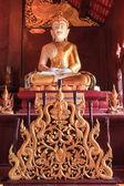 Buddha in Wat Rajamontean Temple — Stock Photo