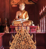 Buddha in Wat Rajamontean Temple — Stock Photo
