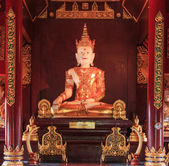 Buddha in Wat Rajamontean Temple — Stock fotografie