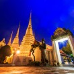 Wat Pho temple — Stock Photo #37192903