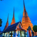 Wat Pho temple — Stock Photo #37193747