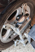 Car wheel fix — Photo