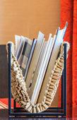 The bookshelf — Stock Photo