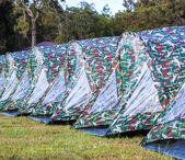 Çadır kampı — Stok fotoğraf