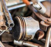 Motorcycle repair tools — Foto de Stock