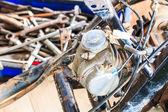 Motorcycle mechanic — Stock Photo