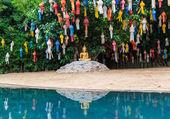 Oro buddha — Foto Stock
