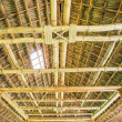 Roof from bamboo and straw — Stock Photo #37299015