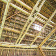 Roof from bamboo and straw — Stock Photo #37299053