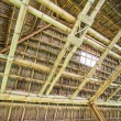 Roof from bamboo and straw — Stock Photo #37299067