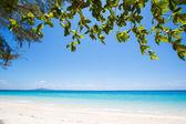 Beach and tropical sea sand — Foto Stock