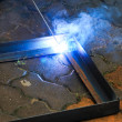 ������, ������: Welding with sparks