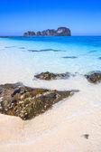 Rocks on the beach — Stock Photo