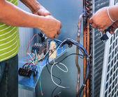 Herstellen van airconditioning — Stockfoto