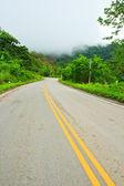 巻き舗装道路 — ストック写真