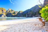Beatiful sand beach — Stock Photo