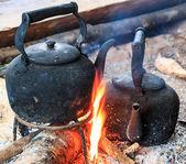Tradycyjna kawa — Zdjęcie stockowe