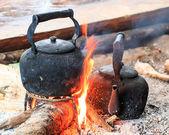 伝統的なコーヒー — ストック写真