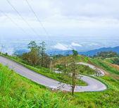 Estrada de montanha — Fotografia Stock