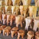 Wood elephants — Stock Photo #37558255