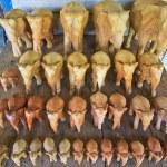 Wood elephants — Stock Photo #37558309