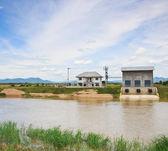 Pumping station — Stock Photo