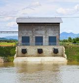 泵站 — 图库照片