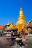 Phrathat Hariphunchai pagoda — Stock Photo