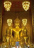Temple de Wat Phra That Haripunchai — Photo