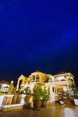 House at luxury resort — Stock Photo