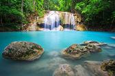 Beatifull azul cachoeira — Fotografia Stock