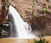 National park waterfall — Stock Photo