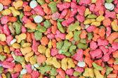 Cat food background — Stock Photo