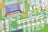 Electronic circuit board. — Stock Photo