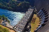 The power station at the Dam in Thailand. — Stock Photo