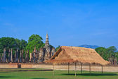 Thai style wooden hut of hill-tribe — Stock Photo