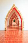 Walkway in temple — Stock Photo