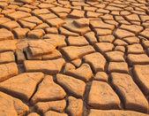 地盤の亀裂 — ストック写真