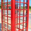 Red telephone box — Stock Photo #38169087