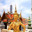 Golden statue of a Kinnara — Stock Photo #38169361