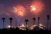 Mooi vuurwerk — Stockfoto