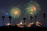 Beautiful fireworks — Stok fotoğraf